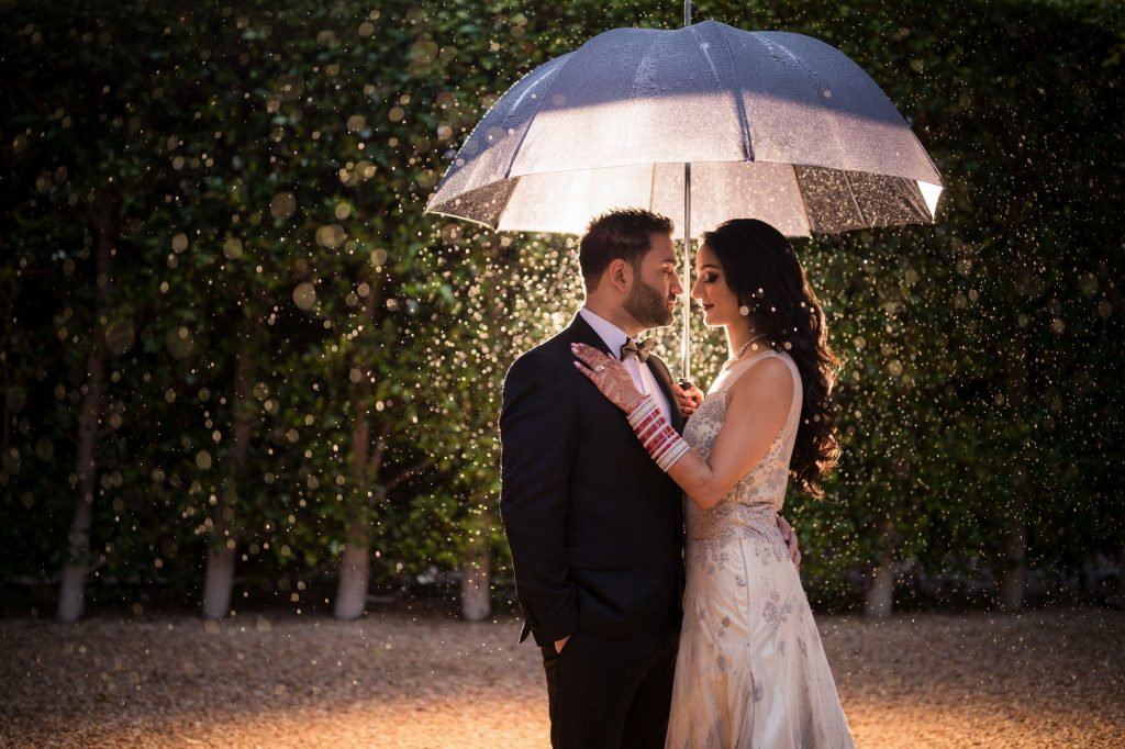 Rainy Day Wedding Photography Concept