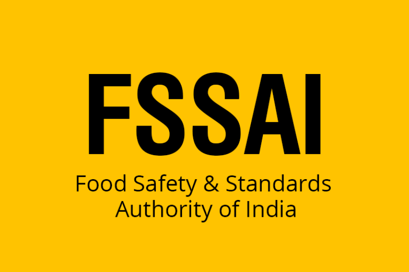 Picture Depicts The Text Food Safety & Standards Authority of India